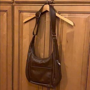 Coronado Leatherware conceal carry purse with key